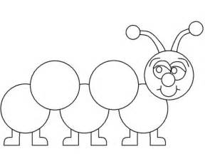 Learn How To Draw A Caterpillar Coloring Page  Kids Play Color sketch template