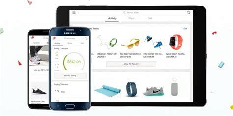 bay app for android ebay overhauls its ios and android apps with unified design