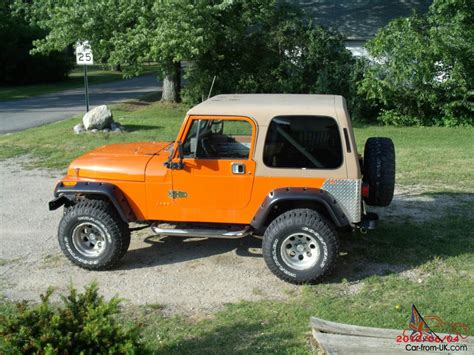 Jeep Inline 6 For Sale 1988 Jeep Wrangler W 1995 Inline 6 Fuel Injected 4 0 W 5