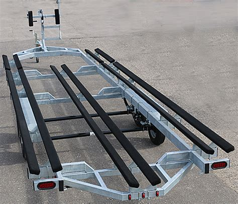 tritoon boat trailer loading guides genesis tritoon trailers for sale