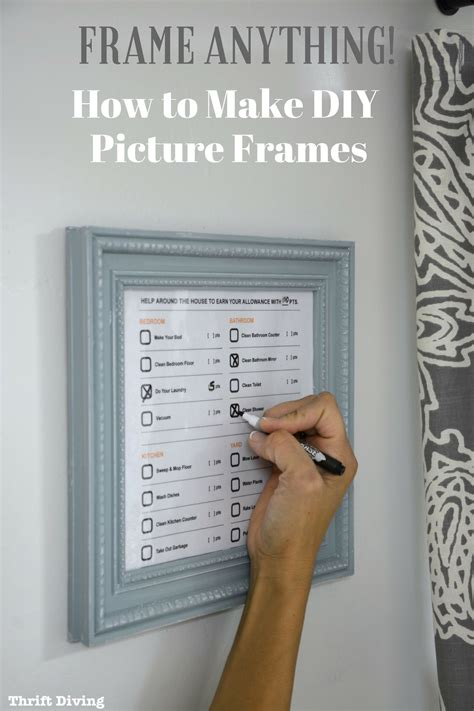 diy picture frames  power tools
