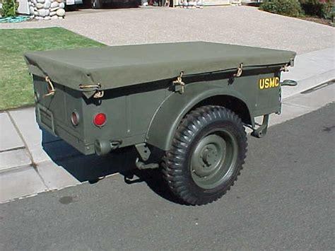 wwii jeep trailer war ii jeep trailer before retored to usmc wwii jeep