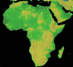 Topographical Map Of Africa by Topographical Map Of Africa Full Size
