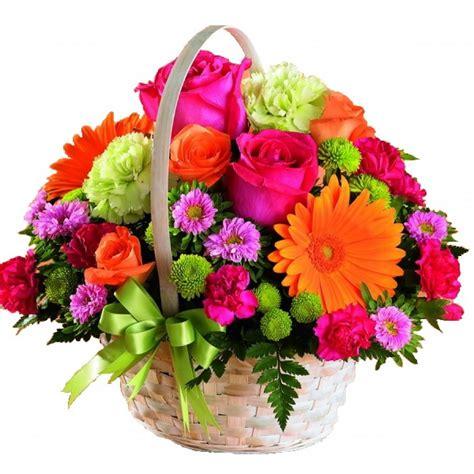Flower Basket by Vibrant Flower Basket
