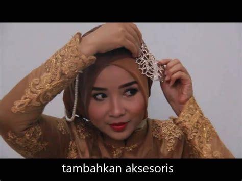 video tutorial hijab wisuda simpel tutorial hijab kebaya wisuda simpel youtube