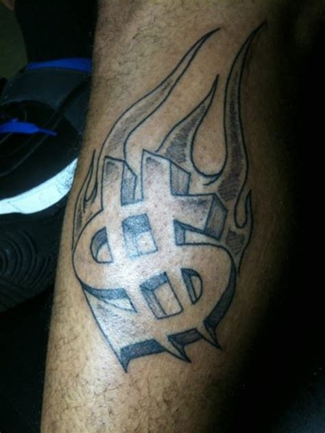 money sign tattoos 18 unique money design ideas and images
