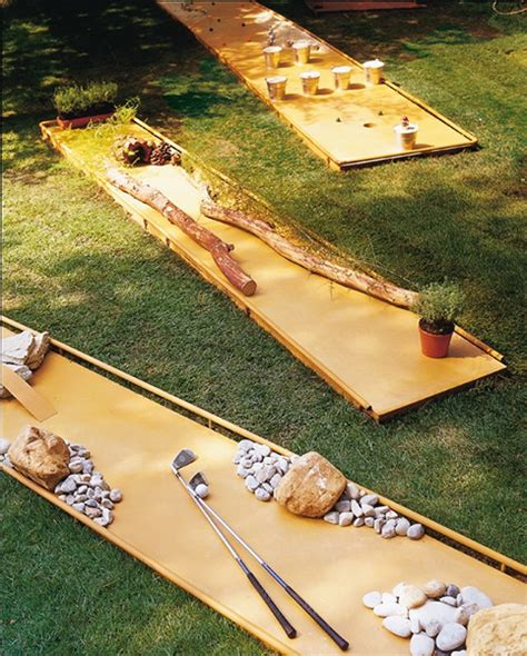 backyard golf hole 10 super fun diy projects for backyard play our daily ideas