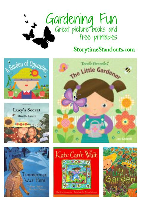garden picture books gardening with children