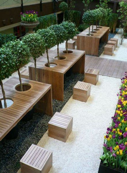 outdoor cafe seating courtyards  trendy ideas seating