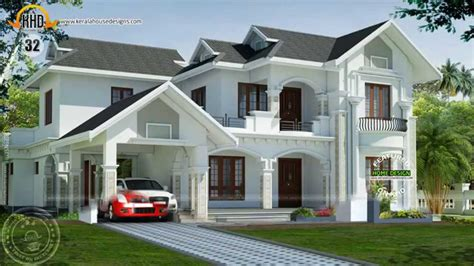 new house design kerala 2015 new house plans for february 2015 youtube