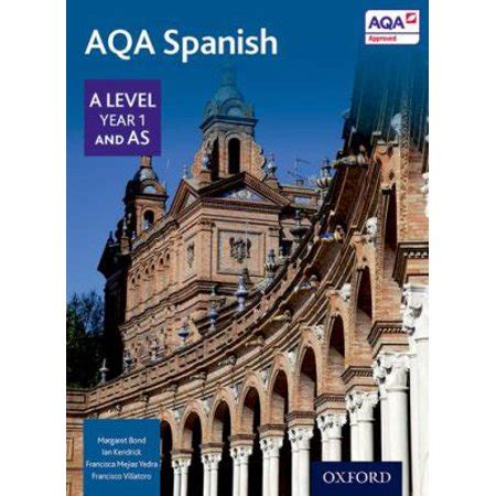 aqa spanish a2 grammar workbook aqa a2 libro de texto descargar ahora aqa a level year 1 and as spanish student book paperback walmart com
