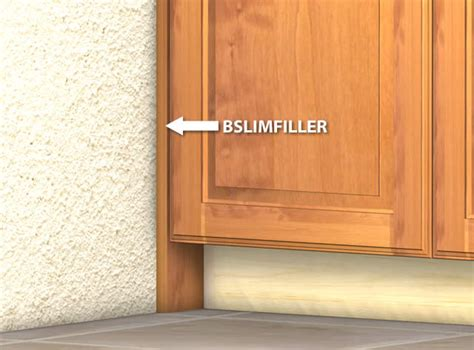Kitchen Cabinet Filler by Slim Cabinet Filler