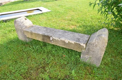 stone garden bench with back rustic stone garden bench in antique limestone