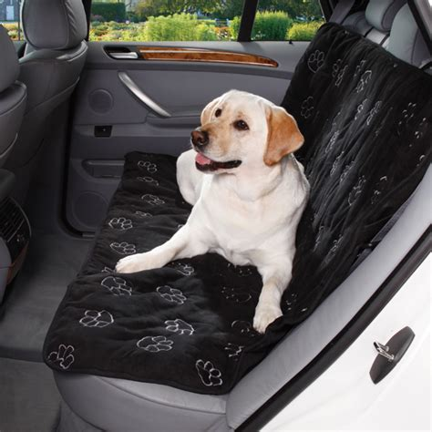 seat protector for dogs pawprint back seat cover back seat car protector for dogs