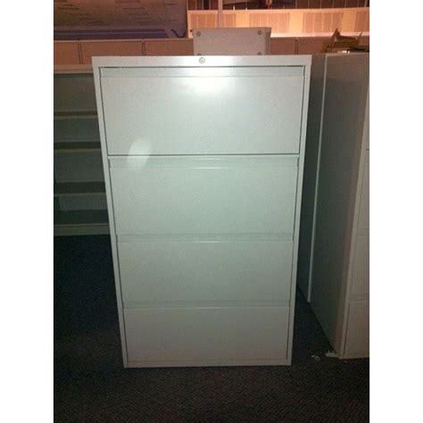 Used Steelcase 4 Drawer Lateral File Cabinets Used Steelcase Lateral File Cabinet