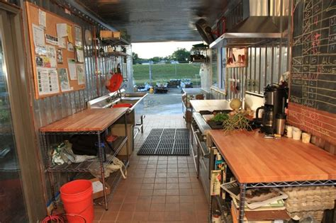 Shipping Container Kitchen by Shipping Container Kitchen Kitchen Incubator Project