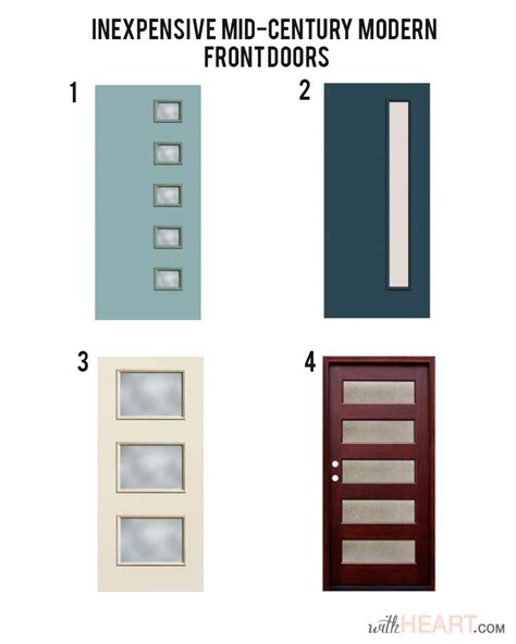 modern style front doors modern front door options withheart