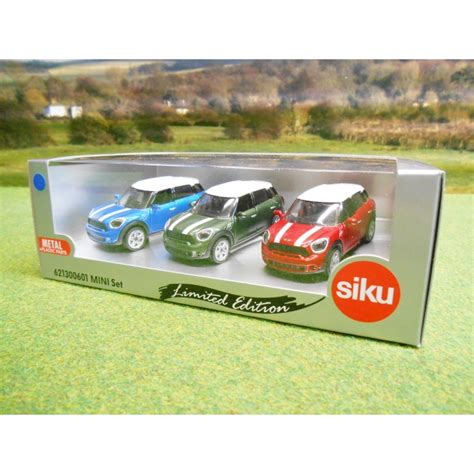 siku 1 55 limited edition bmw mini countryman car gift set one32 farm toys and models