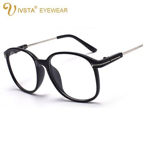 ivsta vintage spectacle frames tf brand designer clear
