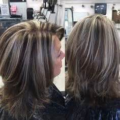 hair color frosted look high contrast hair color highlights and lowlights