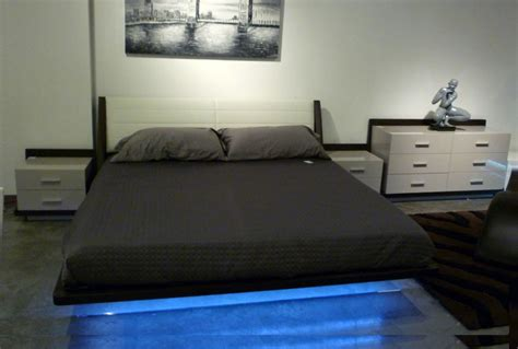 led bedroom modern led bedroom set rivera contemporary bedroom