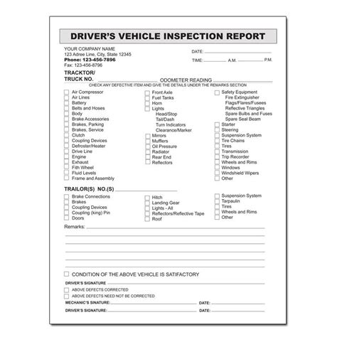 auto repair invoice custom carbonless printing