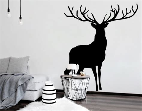 wall stickers nz stag your decal shop nz designer wall decals