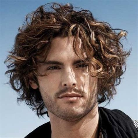 little boy earlobe length hair 30 great curly hairstyles for men inspirations and ideas