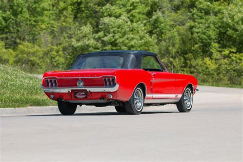 1967 Ford Mustang Gta Convertible 1 Of 559 Produced With This Paint And Trim For Sale Photos 1967 Ford Mustang Fast Classic Cars