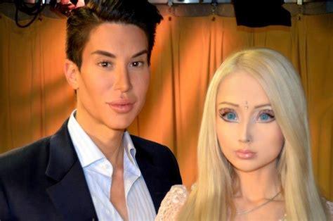 Valeria Lukyanova Barbie Mocked By Ken Justin Jedlica
