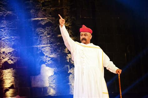 serial actor ganesh gopinath lokmanya tilak re emerges at shaniwarwada