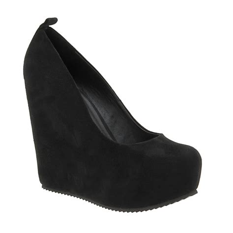 black wedge shoes excshoesme wanted black wedge pumps