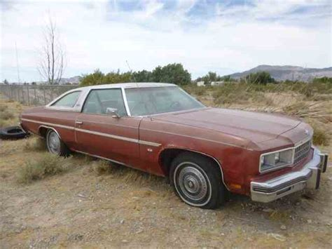 chevrolet caprice classic 1976 1974 to 1976 chevrolet caprice for sale on classiccars