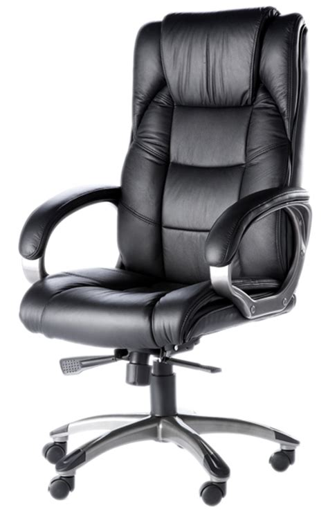 Oak High Chair Norway High Back Soft Feel Leather Executive Office Chair