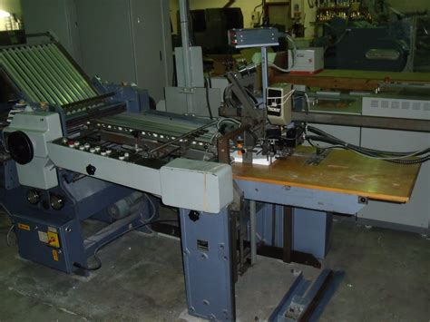 Stahl Paper Folding Machine - folders used finishing machines stahl k 56 4 ktl paper