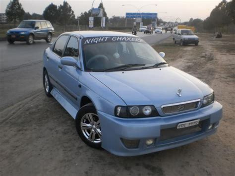 Modified Baleno For Sale In Pakistan by Suzuki Baleno Gti Japanes 2001 Blue Color For Sale In