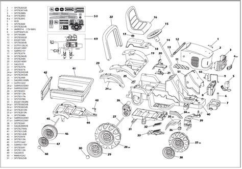 deere d110 parts diagram deere power pull igor0006 parts kidswheels