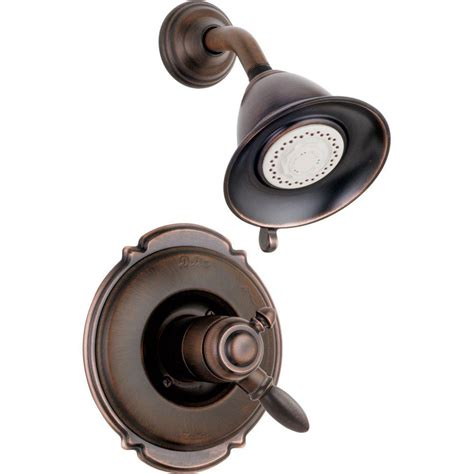 Venetian Bronze Kitchen Faucet by Delta Victorian 1 Handle Shower Only Faucet Trim Kit In