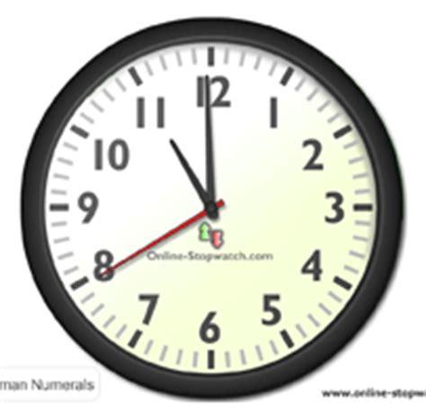 online clock clocks