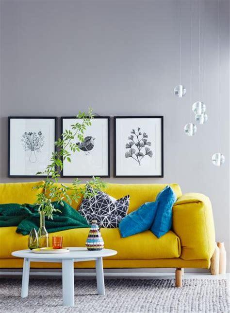 gelbe und blaue schlafzimmer dekorieren ideen wohnideen mit farben einrichten und dekorieren mit gelb