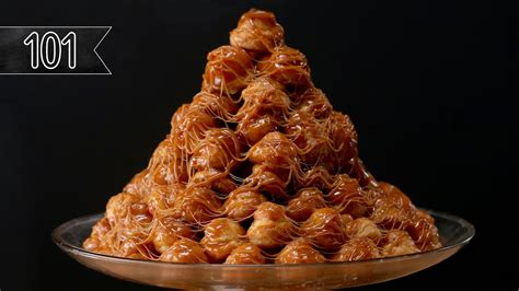 how to make a croquembouche how to make a croquembouche puff tower