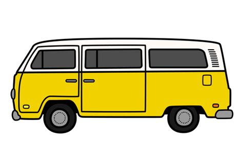 volkswagen minibus side view public bus side view clipart panda free clipart images