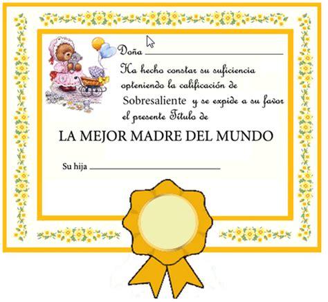 diplomas cristianos dia de la madre para imprimir diplomas para el d 237 a de la madre dibujos para ni 241 os