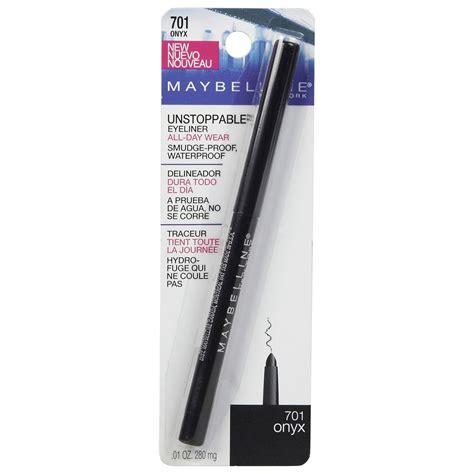 Eyeliner Waterproof Maybelline maybelline unstoppable eyeliner
