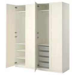 ikea kleiderschrank pax pax wardrobe white bergsbo white 200x60x236 cm ikea