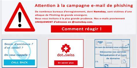 attacco phishing  nome namebay softcodex