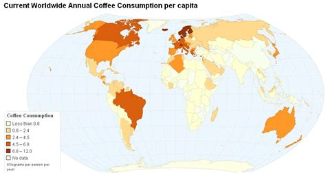 Global Coffee Consumption » Sociological Images