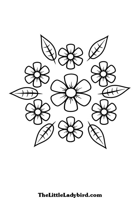 flower leaf coloring page 12 best images of worksheets summer vacation follow