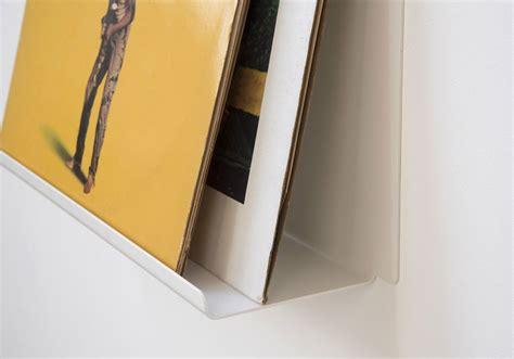 scaffali per cd scaffale espositore per vinili quot le quot 45 cm acciao bianco