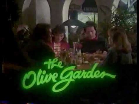 olive garden 1960 olive garden commercial late 80s early 90s